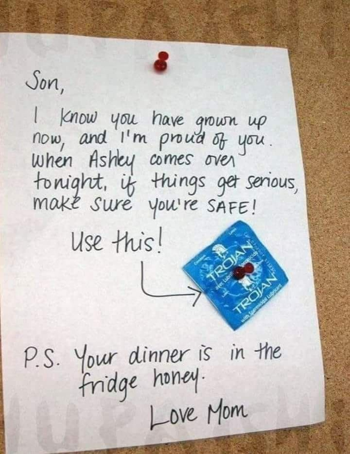 Notice The Thumbtack In The Condom Son This Stupidity Is How We