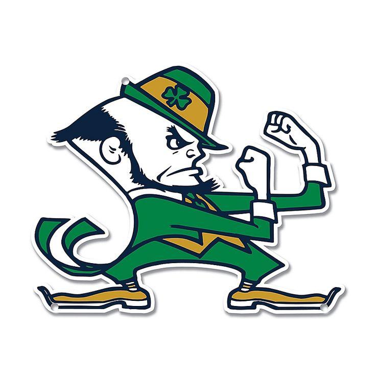 Fighting Irish Notre Dame Leprechaun Notre Dame Mascot Notre Dame Football
