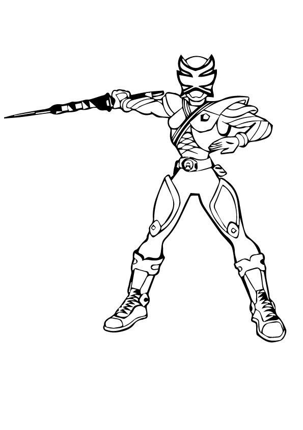 Power Rangers Megaforce Nife Power Rangers Coloring Pages Power Rangers Megaforce Coloring Pages