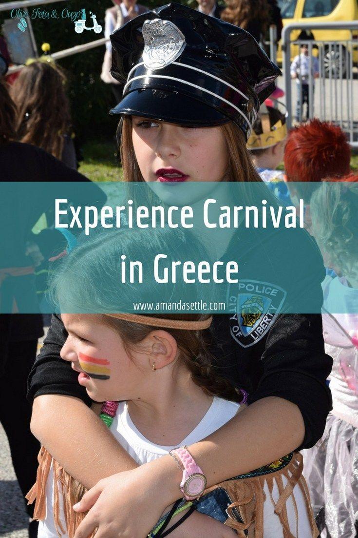 Experience Carnival in Greece pin