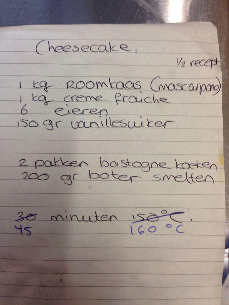 heerlijke cheesecake