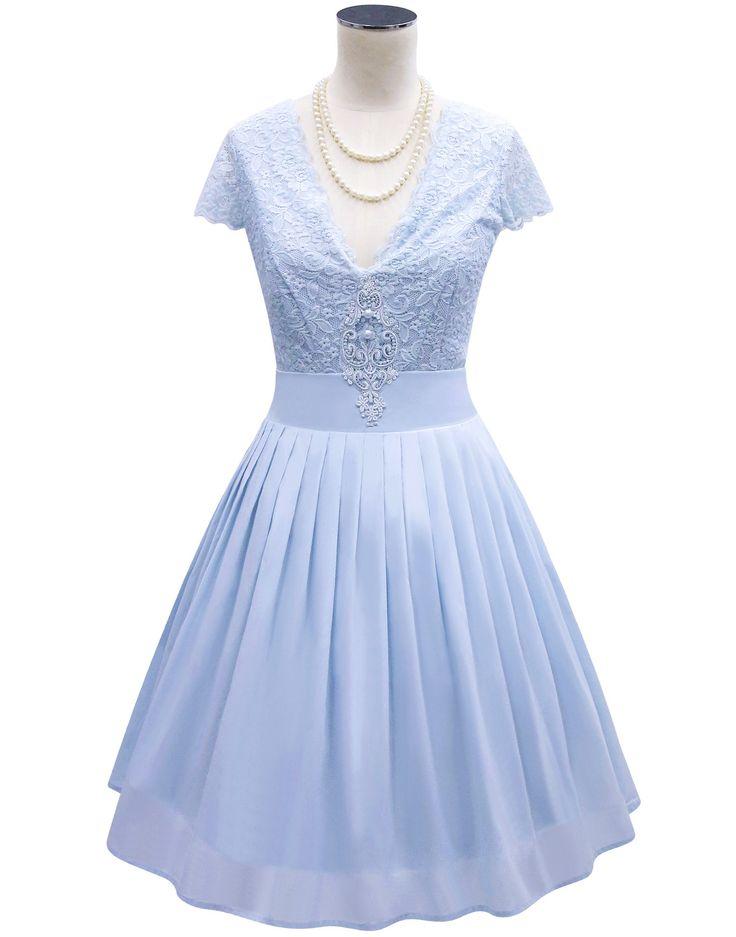 Pretty Ballerina Blue Dress