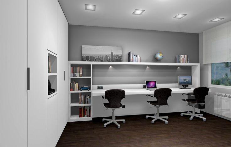 78 best images about oficina despacho on pinterest On habitacion oficina