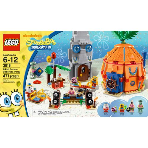 LEGO SpongeBob Bikini Bottom Undersea Party