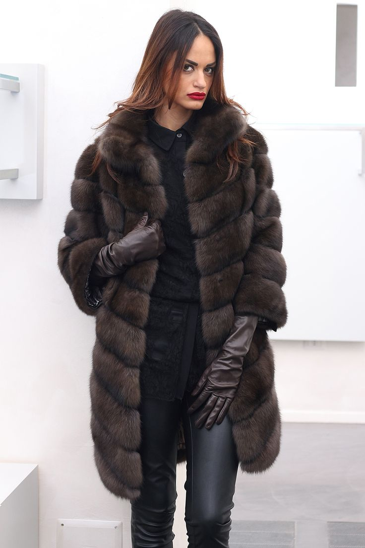 EF001807 - BARGUZINSKY SABLE FUR - JewelsAndFurs