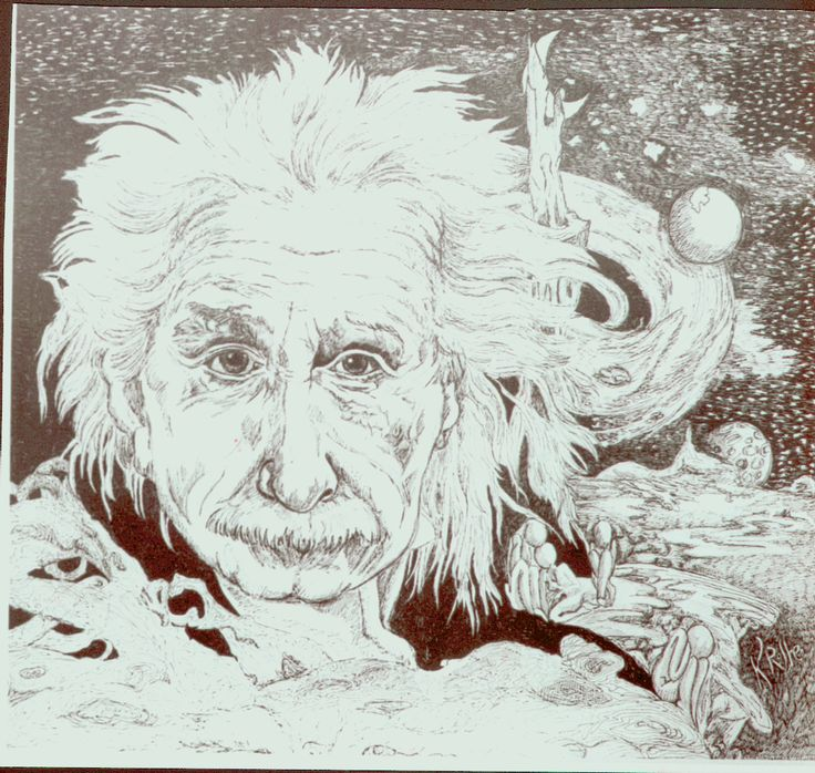 Einstein 1 published in Time magazine in the 1980s