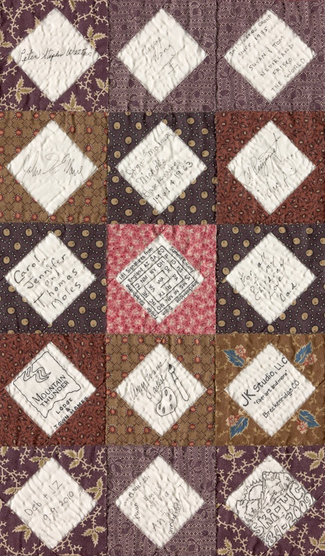 17 Best ideas about Signature Quilts on Pinterest Wedding quilts, All block and Wedding guest ...