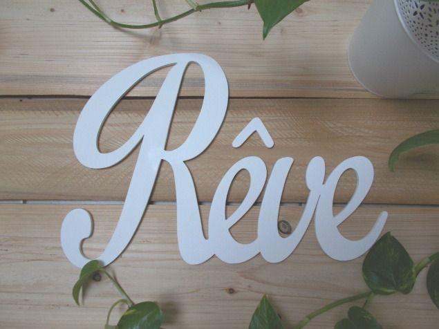 les 30 meilleures images du tableau lettres en bois sur pinterest lettres en bois autres et. Black Bedroom Furniture Sets. Home Design Ideas