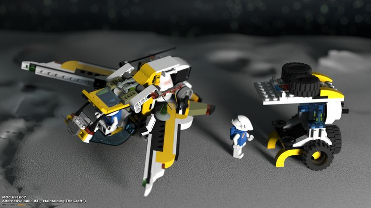 "MOC 691607 Alternative Build 03 (""Maintaining The Craft""), see more at http://lego.queryen.com/php/691607.php"