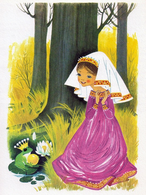 'The Frog Prince' By Felicitas Kuhn [Pestalozzi Verlag] by aMJel, via Flickr