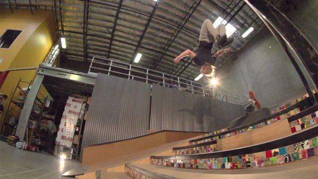 Skateboarder Adam Miller nails first skateboard-to-skateboard gainer backflip - video | Sport | guardian.co.uk