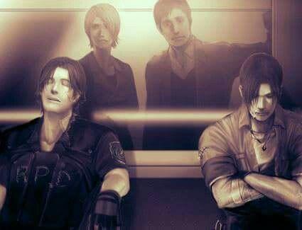 Kevin, Alyssa, George, David ----- Resident Evil Outbreak