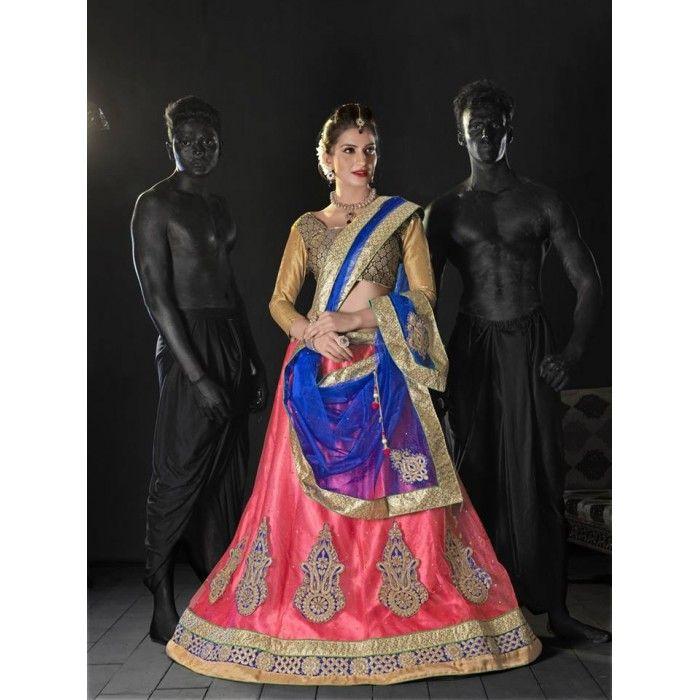 Navratri Special Designer Lehenga Choli ( D.No.NSDLC2 )