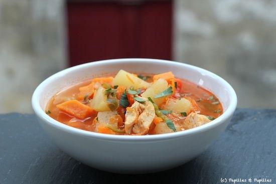 Soupe mexicaine {puchero} – Soupe repas réconfortante (avec du poulet dedans !)