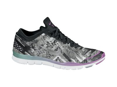 new style 2d09a f773a ... the nike free 5.0 tr fit 4 print womens training ... Sport shoes ...