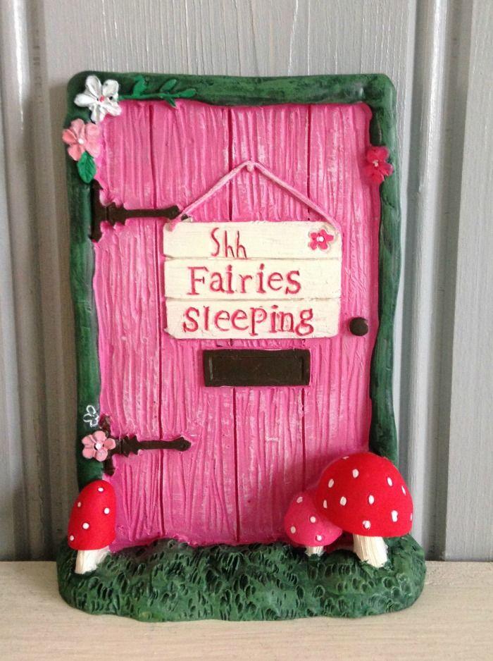 Shh...Fairies Sleeping Fairy Door
