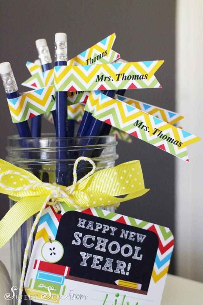Back To School Free Printable Teacher S Gift Tags