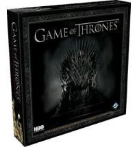 Based on the epic HBO series, Game of Thrones is a card game in which two players wage warin the fields of Westeros and conspire to crush their opponents at court in kings Landing. Two fixed fifty card decks allow players to take control of either House Lannister or House Stark. each deck includes the show's most recognizable characters and locations, including Eddard Stark, Cersei Lannister, Robert Baratheon, Littlefinger, and Jon Snow.