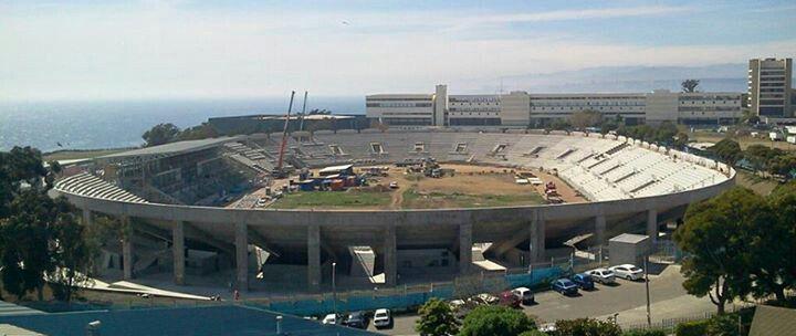 Avances en las obras de remodelación del estadio Elias Figueroa Brander