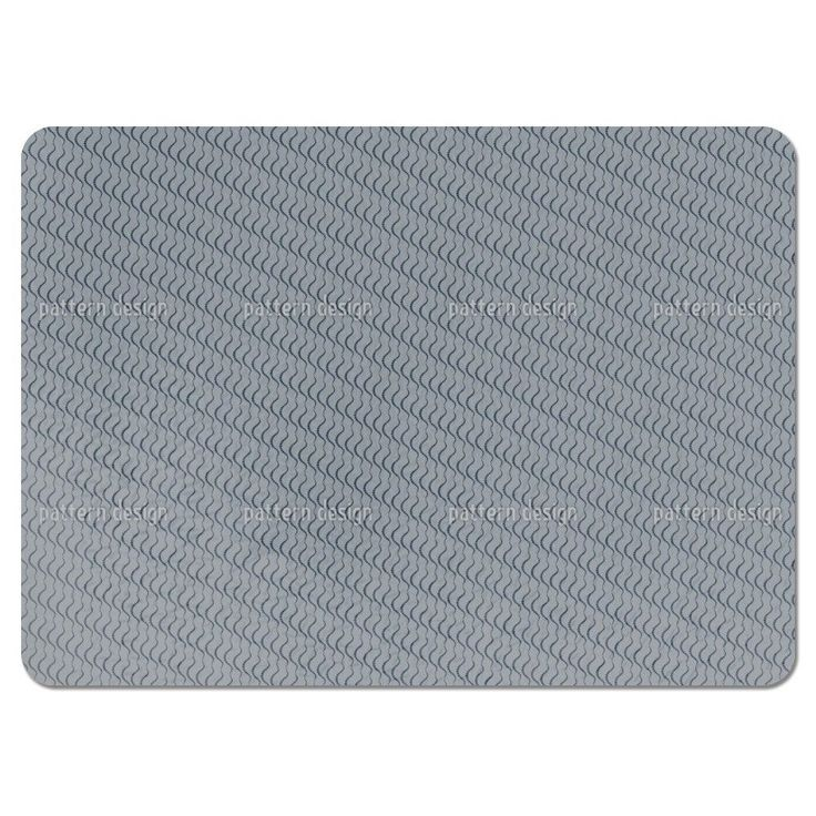 Uneekee Lamello Grey Placemats (Set of 4) (Lamello Grey Placemat) (Polyester, Dots)