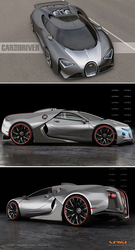 "Bugatti Chiron - The ""Chiron"" will be the fastest supercar on sale when it's released - Firm engine details are yet to be revealed, but a heavily upgraded version of the Veyron's 8-litre, quad-turbo W16 is more likely than an all-new unit, while a hybrid element could be the most effective way of increasing power simply and efficiently - Likely power output of more than 1400bhp - Bugatti will show it off at the Geneva motor show in early March #topgear...x"