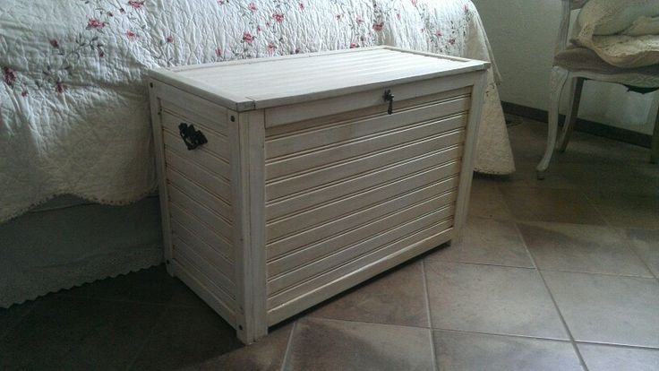 Country cottage chest