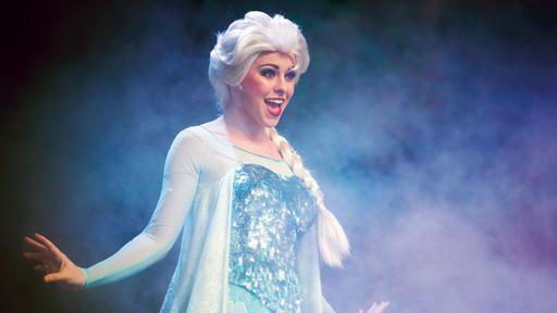 Frozen sing along in Hollywood studios