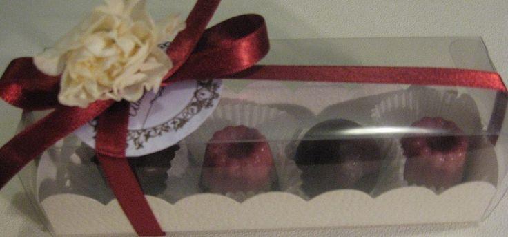 Raw Chocolates in a Pretty  Box  By Almha Rhais