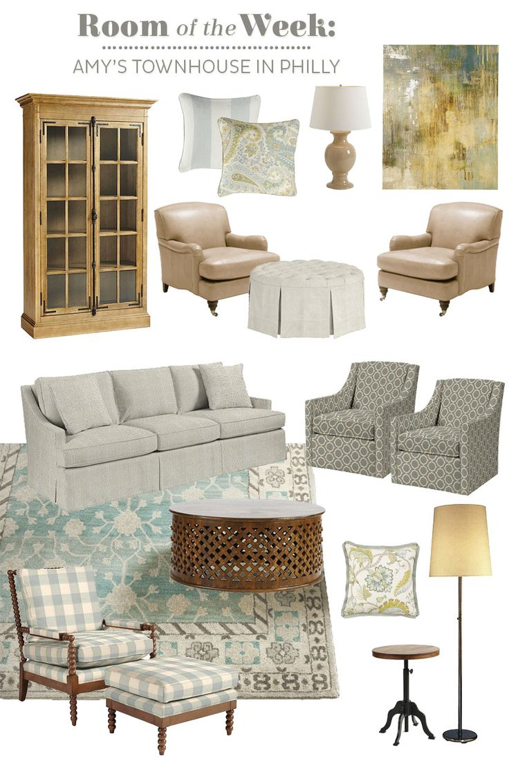 Decorating A Long Living Room With 2 Seating Areas