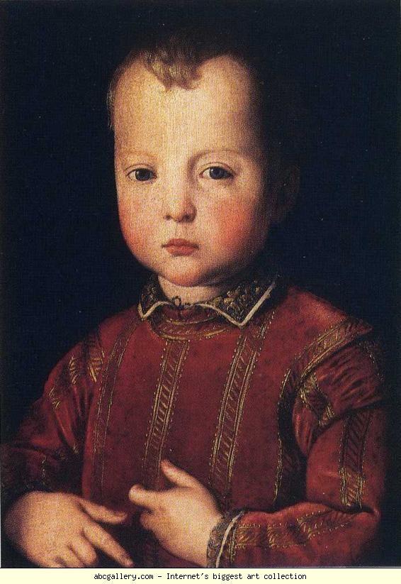 Agnolo Bronzino. Portrait of Garcia de'Medici. 1551