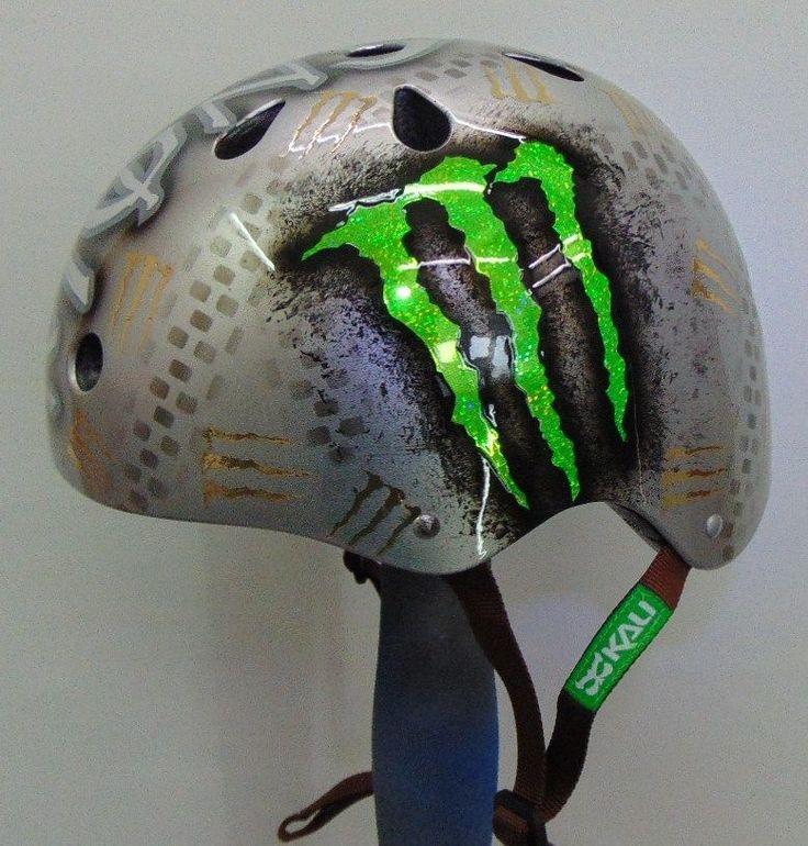 Monster Racing BMX  Skateboard  Snowboard  M/B Kali Helmet - NEW -