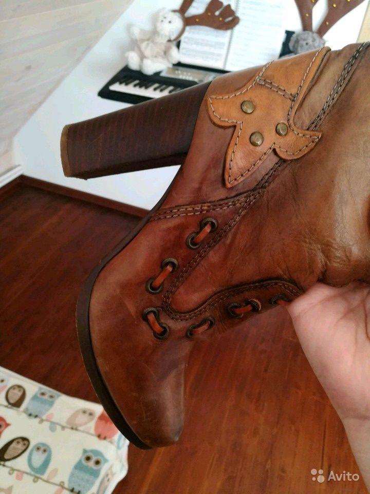 e872e8729 Сапоги vero cuoio кожаные оригинал купить в Москве на Avito — Объявления на  сайте Авито