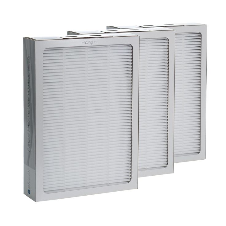 Blueair 500/600 Series Replacement Particle Filter (500/600 Series Replacement PArticle Filter), White