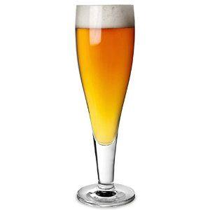Flute glass beer