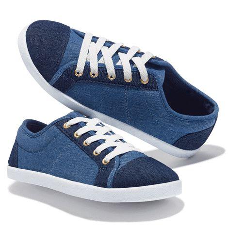 Indigo Hues Sneaker