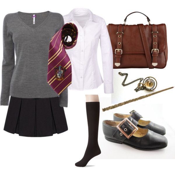 """Hermione Granger Costume"" by ardice on Polyvore"
