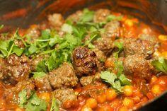 Marokkaanse gehaktballen in tomatensaus met Harissa-saus 52