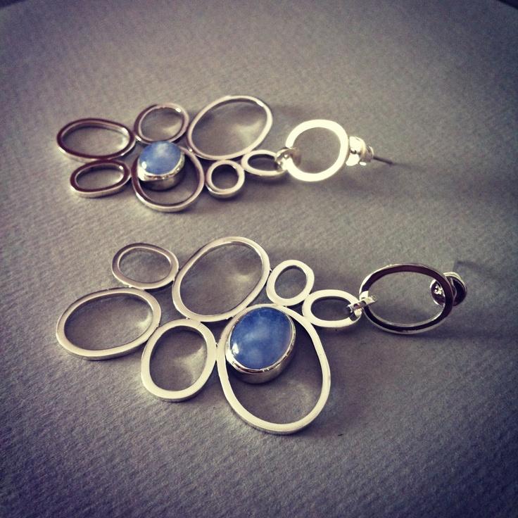 """""""Silver Wings"""" Sterling Silver Earrings"""