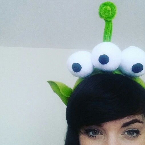 Toy Story Alien Home Made Headband By Amyloubates My