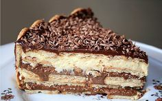 É pavê ou pa come? É pá se deliciar! Pavê de chocolate, uma excelente opção de sobremesa para qualquer dia! INGREDIENTES 1 pacote de bolacha maizena molhad
