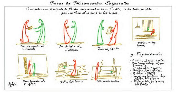 Los dibujos de Osoro para el Año de la Misericordia :: Diócesis :: Religión Digital