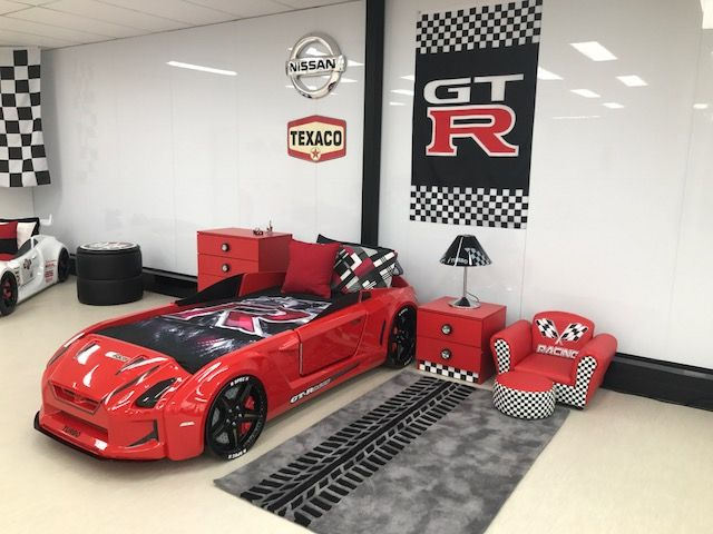 Gt Racer Fast Car Beds Car Bed Kids Car Bed Kids Bedroom Designs