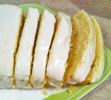 just got this recipe from a friend. She tells me it is a Top Secret (until now!) version of Starbuck's Lemon Loaf and swears it's as good a...