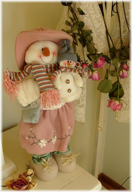 Snowlady in Pink | Flickr - Photo Sharing!