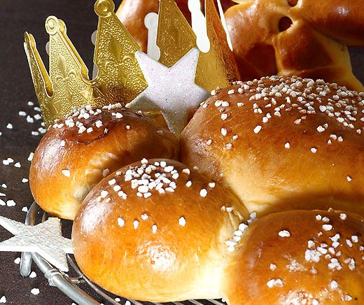 Ein frischer, selbst gebackener #Dreikönigskuchen schmeckt einfach königlich. #Rezept #Backen