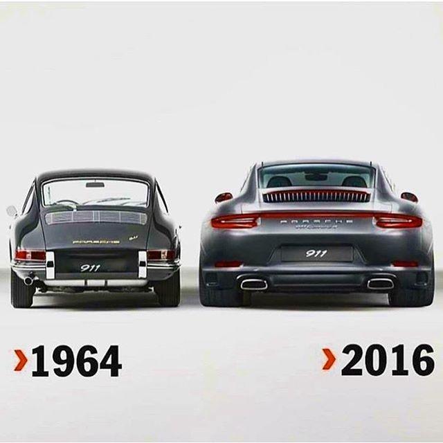 Warum ein Porsche von 1964 um soviel eleganter gestaltet ist!!!!!!!