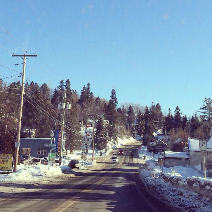 On the road! Une belle journée ensoleillée :) @aventureOolahwan @Tim Fagan @Laurent Choinière #lovemotoneige