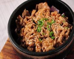 Boeuf sauté coréen (facile, rapide) - Une recette CuisineAZ