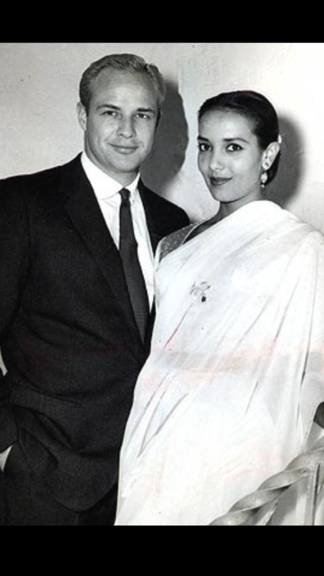 Marlon Brando & Anna Kashfi.
