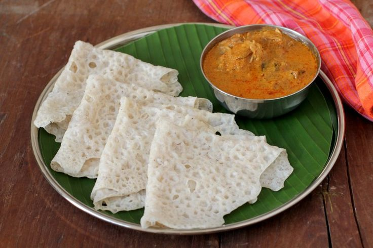 Learn how to make Neer dosa recipe with chicken curry, a Mangalore style speciality. Easy South Indian breakfast dish prepared with rice & coconut.